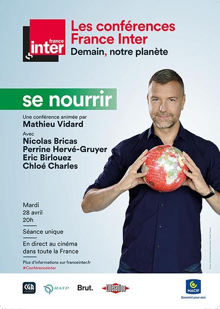 Image du film Se nourrir - Conférence France Inter