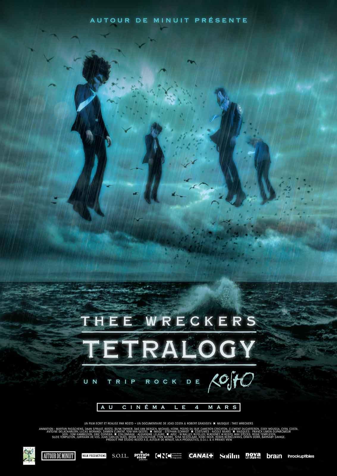Image du film Thee Wreckers Tetralogy - Un trip rock de Rosto