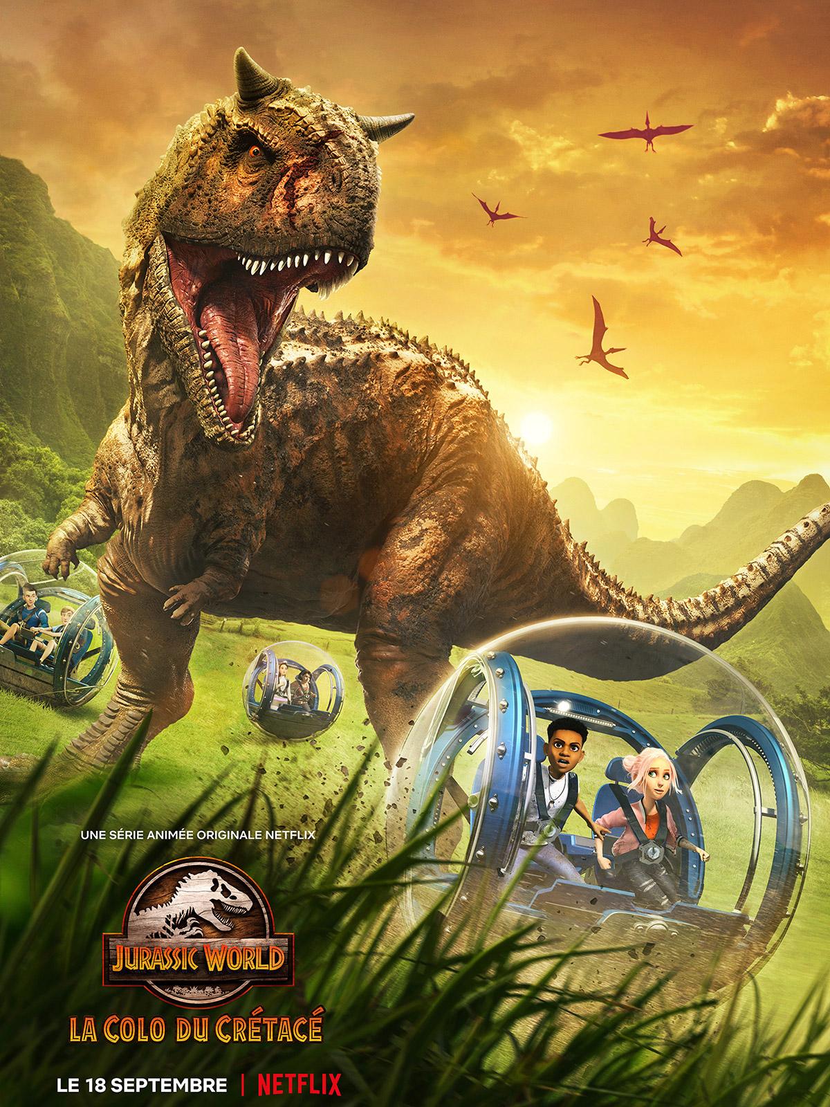 46 - Jurassic World - La Colo du Crétacé