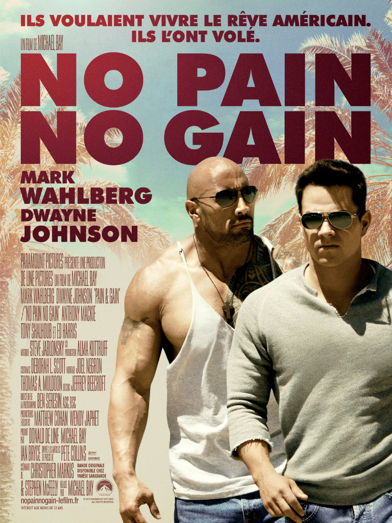 No Pain No Gain (2013) [MULTI-FRENCH] [Blu-Ray 1080p]