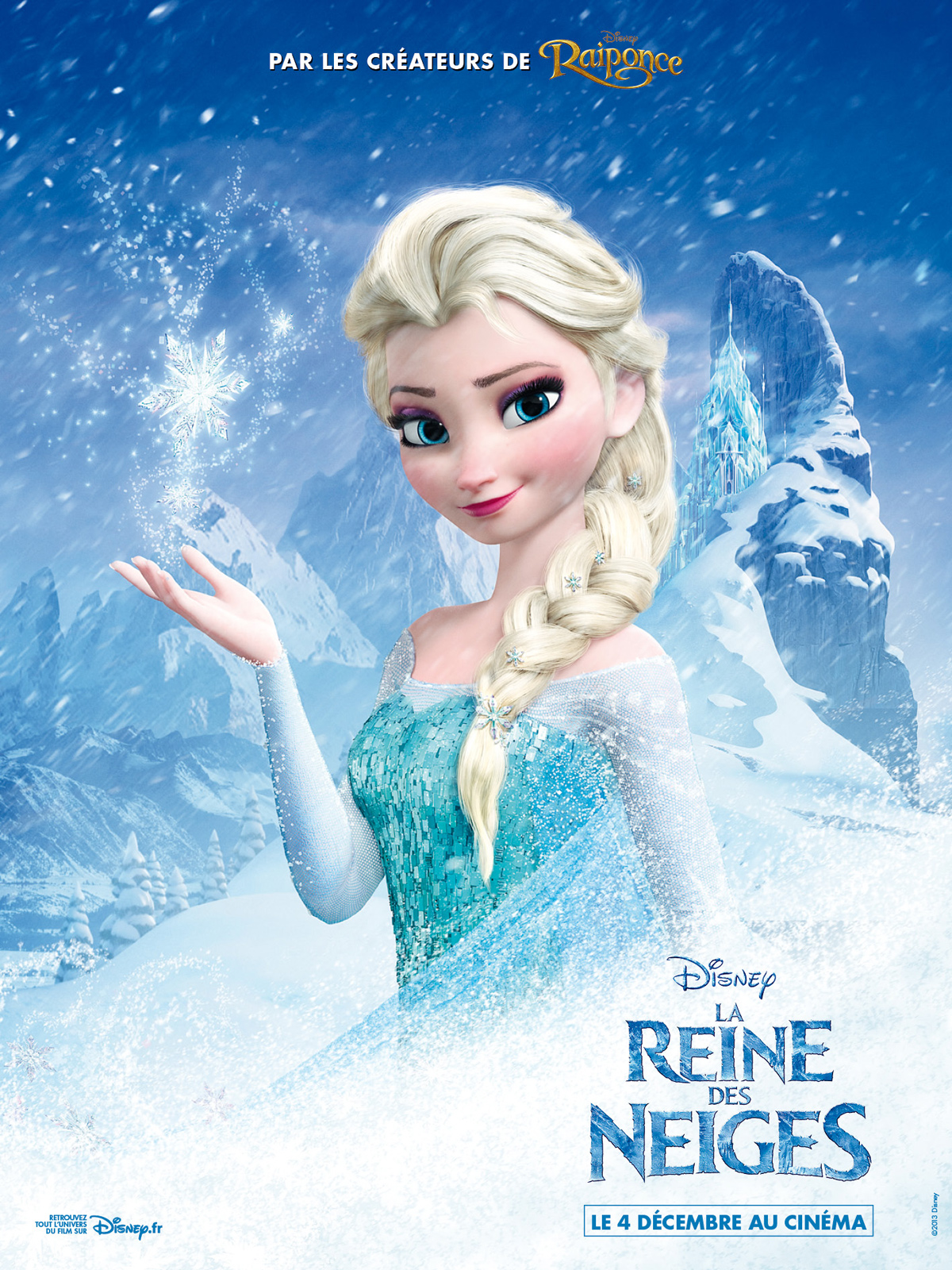 affiche du film la reine des neiges affiche 3 sur 6. Black Bedroom Furniture Sets. Home Design Ideas