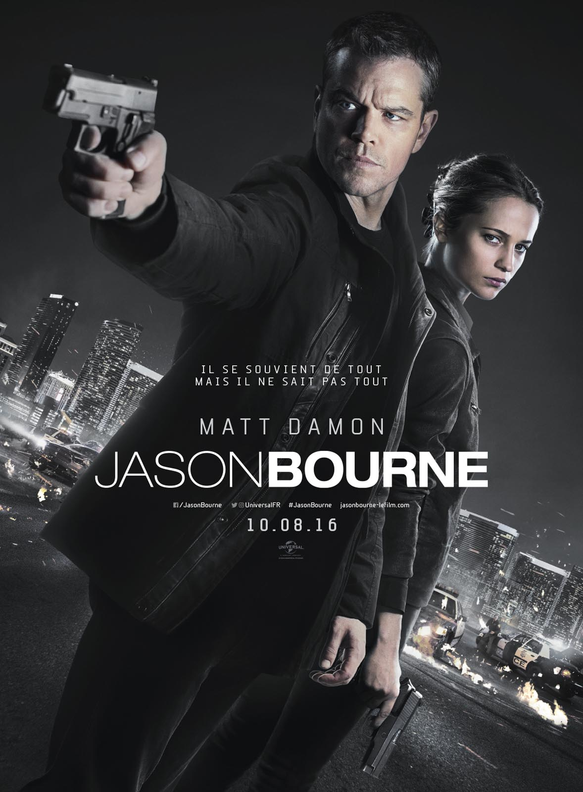 Jason Bourne 2016 en streaming