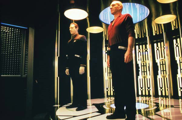 Star Trek: Insurrection : Photo Jonathan Frakes, Patrick Stewart