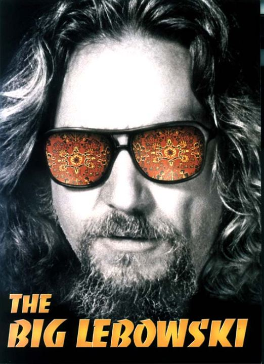 affiche du film the big lebowski affiche 2 sur 2 allocin. Black Bedroom Furniture Sets. Home Design Ideas