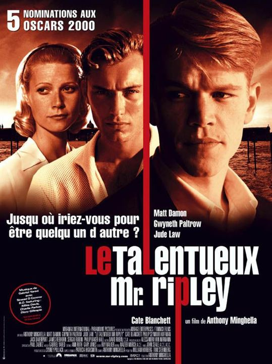 Le Talentueux M. Ripley : Affiche