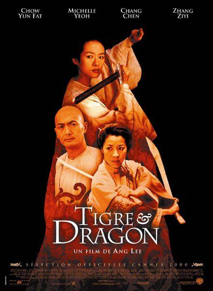 Tigre et dragon : Affiche