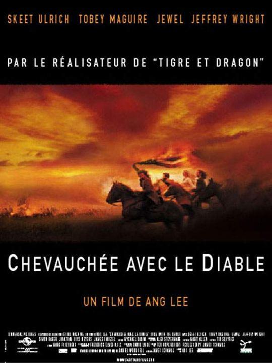 Chevauchée avec le diable : affiche Ang Lee