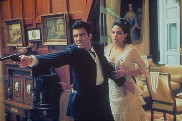Péché originel : Photo Angelina Jolie, Antonio Banderas, Michael Cristofer
