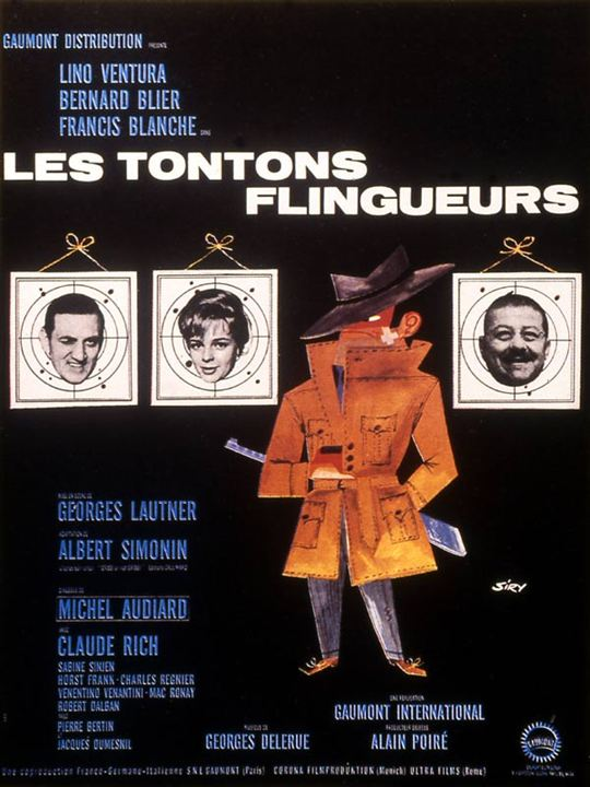 affiche du film les tontons flingueurs affiche 1 sur 1 allocin. Black Bedroom Furniture Sets. Home Design Ideas