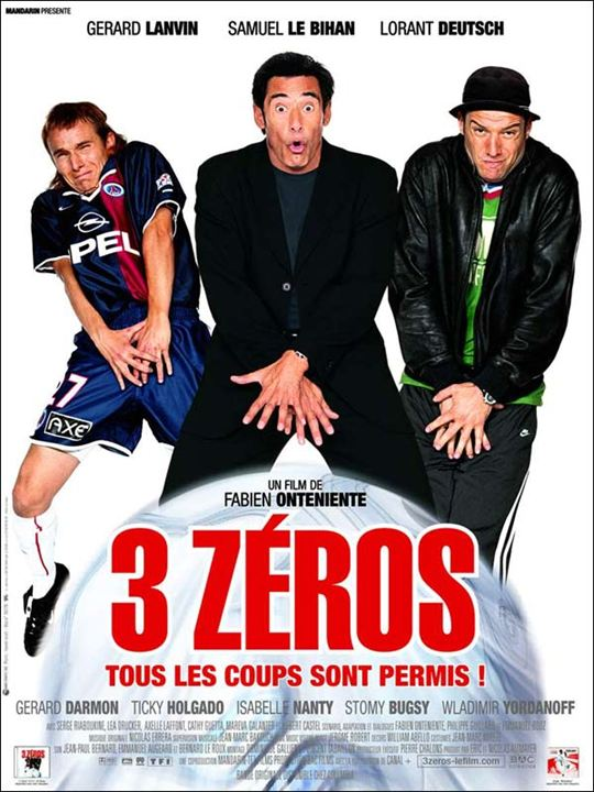 3 Zéros : affiche