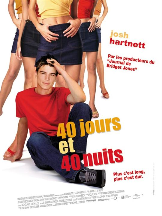 affiche du film 40 jours et 40 nuits affiche 1 sur 1 allocin. Black Bedroom Furniture Sets. Home Design Ideas