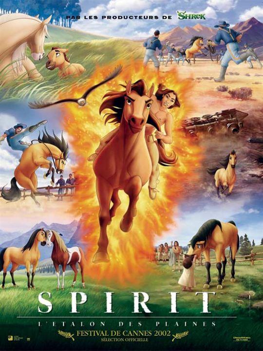 Spirit, l'étalon des plaines : Affiche