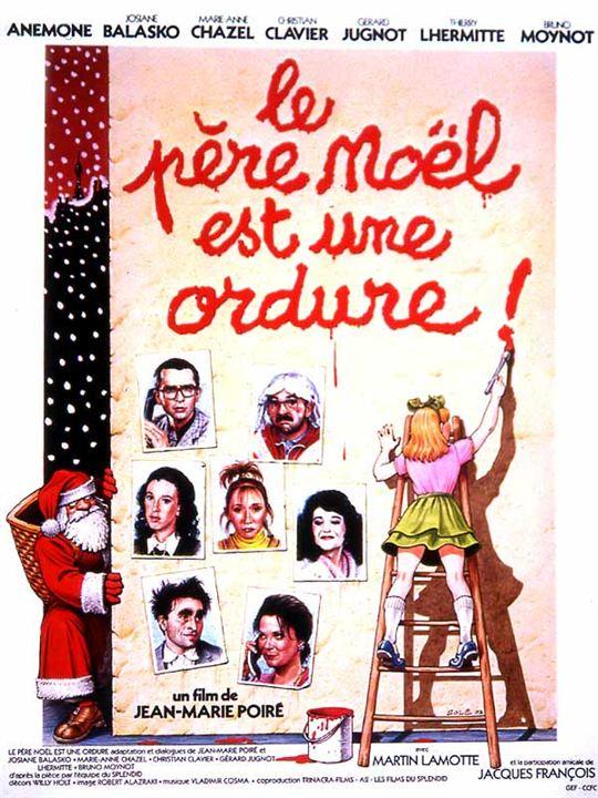 Le Père Noël est une ordure : affiche