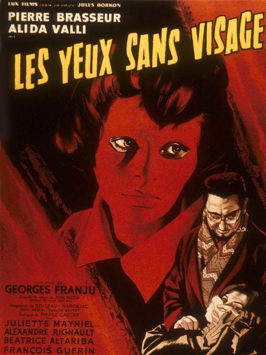 Les yeux sans visage : Affiche Georges Franju