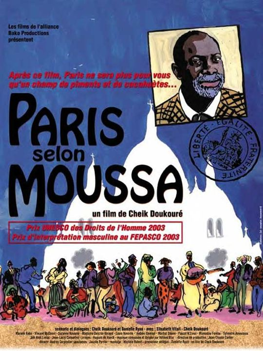 Paris selon Moussa : affiche