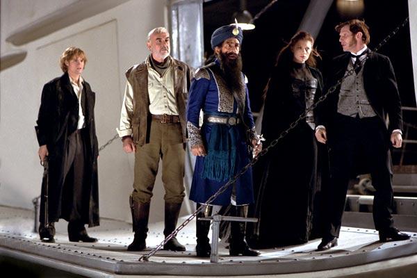 La Ligue des Gentlemen Extraordinaires : Photo Jason Flemyng, Naseeruddin Shah, Peta Wilson, Sean Connery, Shane West