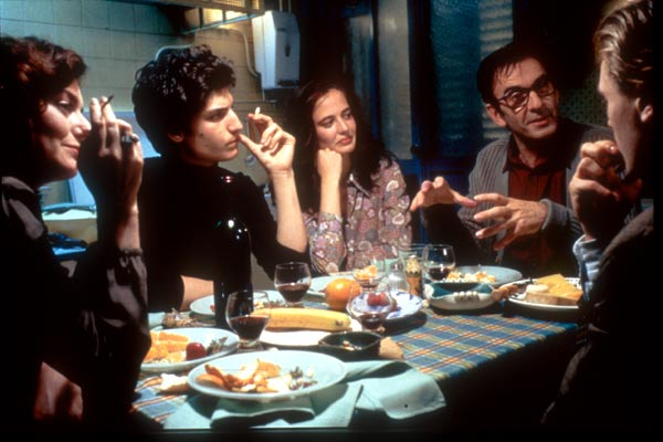 Innocents - The Dreamers : Photo Bernardo Bertolucci, Louis Garrel, Michael Pitt, Robin Renucci