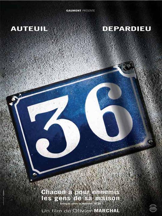 36 Quai des Orfèvres : Affiche