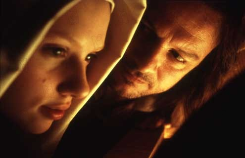 La Jeune fille à la perle : Photo Colin Firth, Scarlett Johansson