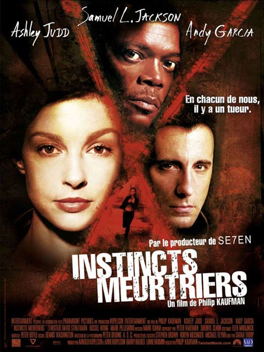 Instincts meurtriers : Affiche Andy Garcia, Ashley Judd, Philip Kaufman