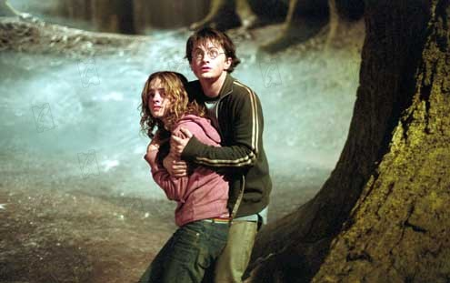 Harry Potter et le Prisonnier d'Azkaban : Photo Daniel Radcliffe, Emma Watson