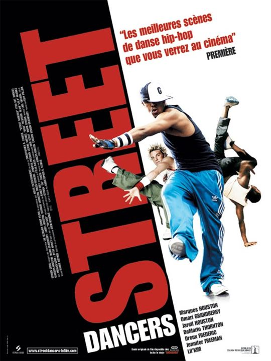 Street dancers : affiche Christopher B. Stokes