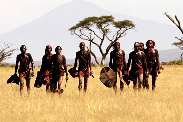 Massai, les guerriers de la pluie : Photo Pascal Plisson