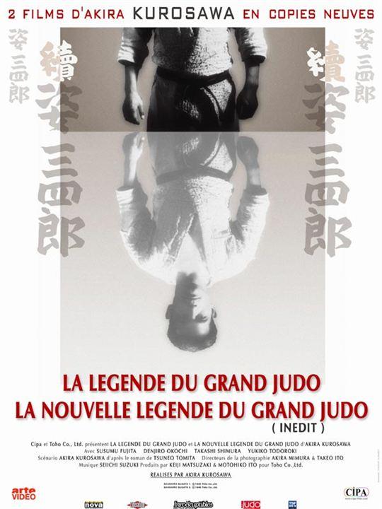 La Légende du grand judo : Affiche