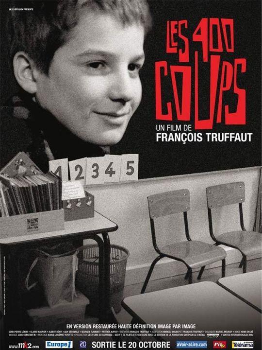Affiche du film les quatre cents coups affiche 2 sur 2 allocin - Les quatre cents coups film ...