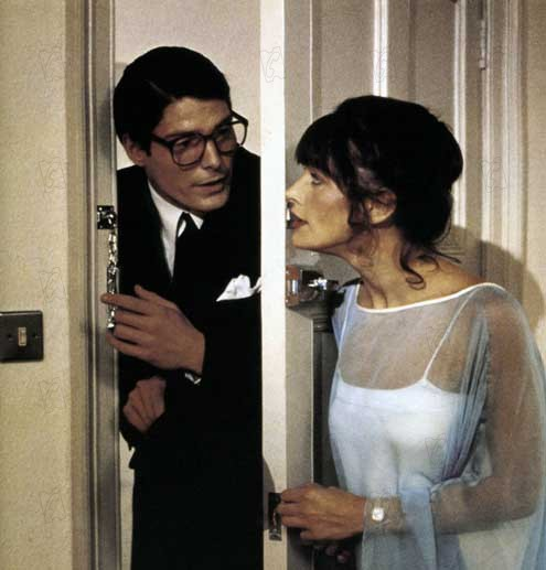 Superman : Photo Christopher Reeve, Margot Kidder