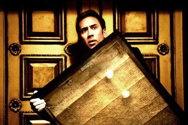 Benjamin Gates et le Trésor des Templiers : Photo Nicolas Cage