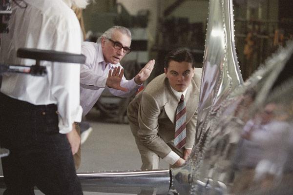 Aviator : Photo Leonardo DiCaprio, Martin Scorsese