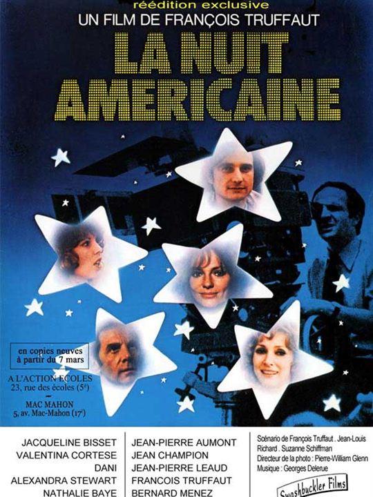La Nuit américaine : Affiche François Truffaut