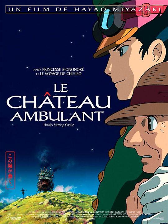 Le Château ambulant : Affiche