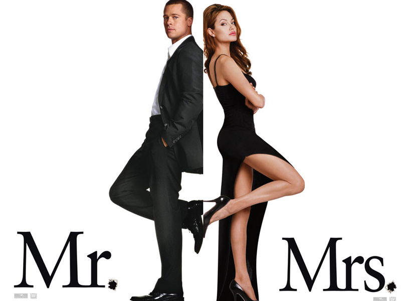 Mr. & Mrs. Smith : Affiche Doug Liman