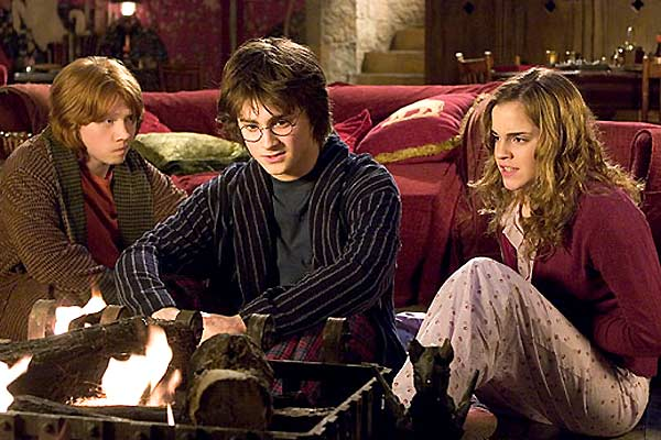 Harry Potter et la Coupe de Feu : Photo Daniel Radcliffe, Emma Watson, Rupert Grint