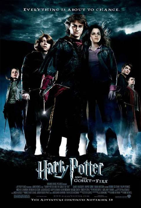Affiche du film harry potter et la coupe de feu affiche 13 sur 26 allocin - Harry potter et la coupe de feu bande annonce vf ...