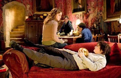 Harry Potter et la Coupe de Feu : Photo Daniel Radcliffe, Emma Watson
