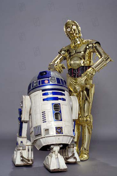 Star Wars : Episode III - La Revanche des Sith : Photo Anthony Daniels, Kenny Baker