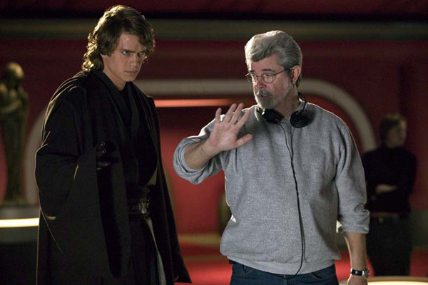 Star Wars : Episode III - La Revanche des Sith : Photo George Lucas, Hayden Christensen