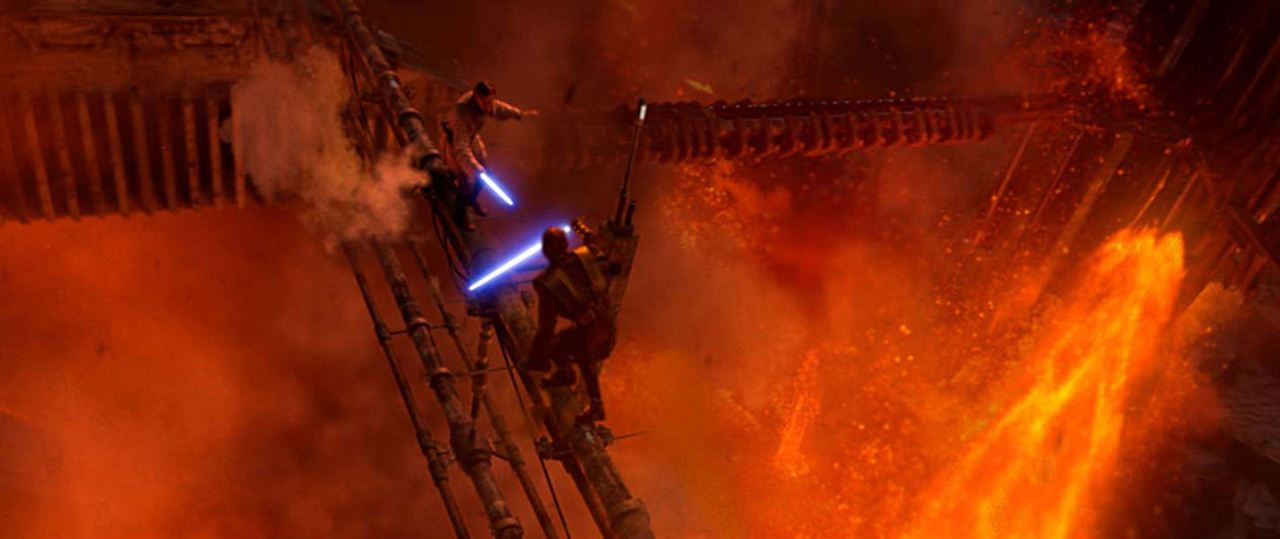Star Wars : Episode III - La Revanche des Sith : Photo Ewan McGregor, Hayden Christensen
