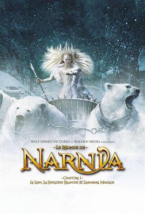 Le Monde de Narnia : Chapitre 1 - Le lion, la sorcière blanche et l'armoire magique : Affiche Andrew Adamson, Tilda Swinton