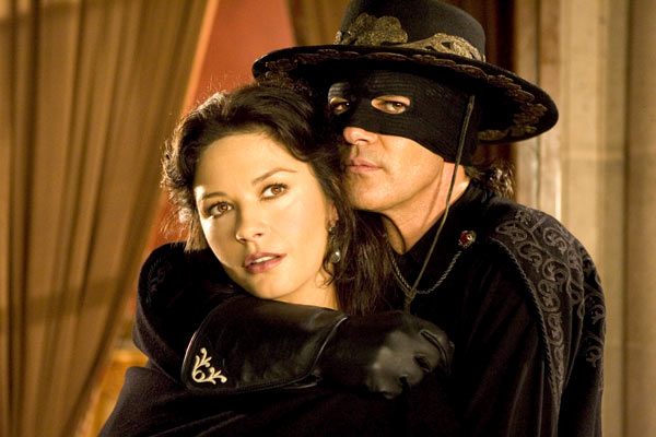 La Légende de Zorro : Photo Antonio Banderas, Catherine Zeta-Jones