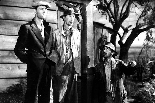 Les Raisins de la colère : Photo Henry Fonda, John Carradine, John Ford, John Qualen