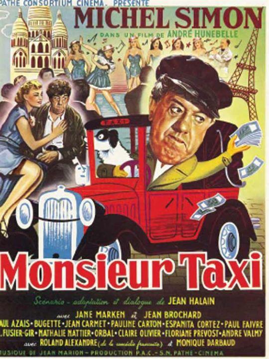 Monsieur Taxi : affiche André Hunebelle, Michel Simon