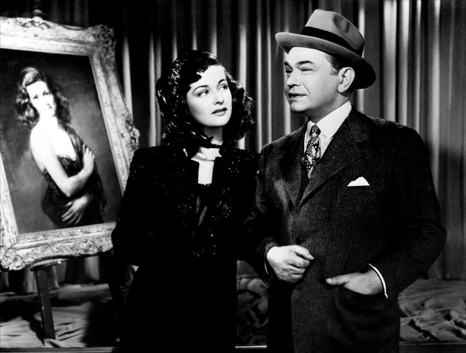 La Femme au portrait : Photo Edward G. Robinson, Joan Bennett