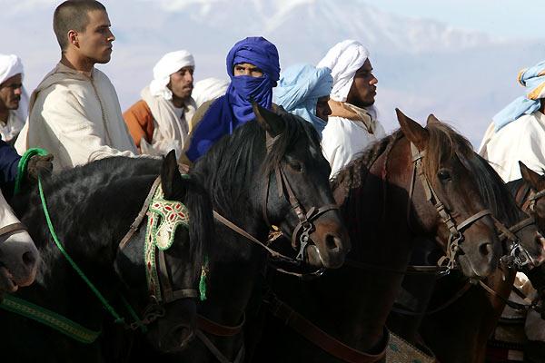 Zaïna, cavalière de l'Atlas : Photo Bourlem Guerdjou