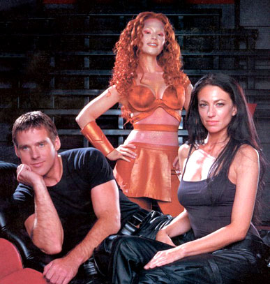 Farscape : Photo Ben Browder, Claudia Black, Raelee Hill