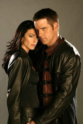 Farscape : Photo Ben Browder, Claudia Black