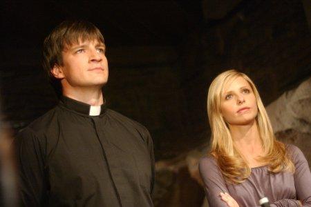 Buffy contre les vampires : Photo Nathan Fillion, Sarah Michelle Gellar
